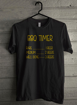 BBQ Timer Barbecue Men's T-Shirt - Custom (087) - $19.12+