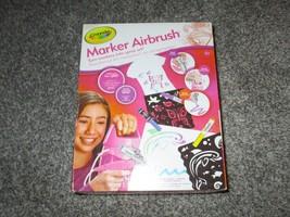 Crayola Marker Airbrush Pink Spray System Machine And Markers, NIB - $21.49