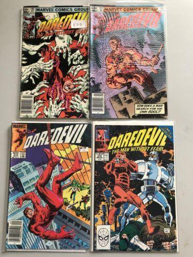 Lot of 8 Daredevil (1964 1st Series) #180 191 210 275-277 285 303 VF Very Fine