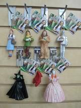 Set of 7 - WIZARD OF OZ Ornaments - Dorothy, Lion, Scarecrow, Tin man, W... - $35.00