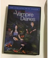 Vampire Diaries The Complet Third Saison DVD 2012 5 Disque Ensemble Tested - $12.00