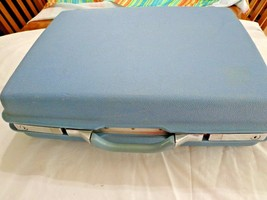 Samsonite Blue Montbello II Suitcase Hardshell Luggage - $38.00