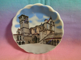 "ASSISI - Basilica di S. Francesco Mini Souvenir Collector Wall Plate 4"" - $5.93"