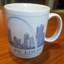 Starbucks St. Louis City Coffee Mug 2007 18 oz The Gateway City - $16.44