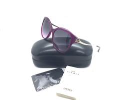Coach Lila Sonnenbrille HC 8189 541890 2N L1610 55 mm Violett Helles Gold - $89.97