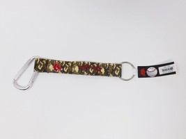 """Boston Red Sox Key Tag w/ Camouflage Lanyard and 2"""" Carabiner - New - $12.34"""