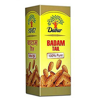 Pack of 2 Dabur Badam (Almond) Tail oil 50 ml  Ayurvedic and Herbal product. - $26.99