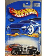 2001 Hot Wheels Collector No #137 ARACHNOROD Black/Chrome w/Chrome 5 Spokes - $6.30