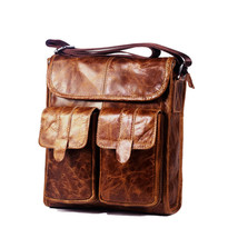 cheap for discount b7dbe a5da4 New Oil Wax Genuine Leather Mens Shoulder Bag for Work Daily Use Crossb...  Add to cart · View similar items