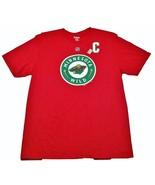 Minnesota Wild Reebok Primary Team Logo Captain NHL Hockey T-Shirt - $19.99