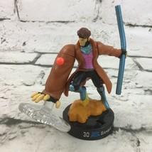 Marvel X-Men Gambit #30 Attacktix Battle Figure Rare Game Piece Hasbro 2006 - $11.88