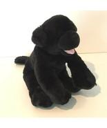 "Build A Bear Workshop BABW Black Lab Labrador Dog Plush Stuffed Animal 18"" - $13.99"