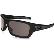 2431fc8058 Oakley Sunglasses Turbine OO9263-01 Matte Black Frames Warm Gray Lens 65MM  -  85.53