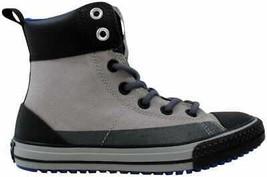 Converse Chuck Taylor Asphalt Boot Dolphin/Black 649995C Pre-School Size 2Y - $60.00