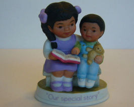 Vintage Avon 1991 OUR SPECIAL STORY FIGURINE - $15.99