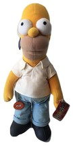 Applause 2002 Licensed The Simpsons Homer Plush Stuffed Animal Doll Soft... - $69.99