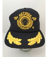 Vtg Hat Cap International Union Operating Engineers Michigan Retiree Loc... - $26.68