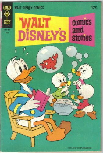 Walt Disney's Comics and Stories Comic Book #334 Gold Key 1968 FINE