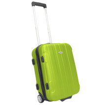 "Traveler's Choice Rome 20"" Green Carry-on Lightweight Rolling Suitcase L... - $54.44"