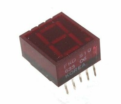 7-Segment Common Anode LED Red 1-Digit Display,  - $6.64