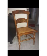 Vintage Hitchcock Style Maple Side Chair with Cane Seat - $74.25