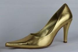 Nine West Dougo Braun Pumps Spitz Stilettos Ferse ohne Bügel Größe 7M - $18.99