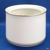 Noritake Gloria Sugar Bowl White with Gold  ca 1970 (NO LID) 6526 - $8.91