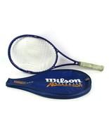 Wilson Graphite Aggressor Tennis Racket High Beam Series 4.5 Grip w/ cover - $21.01