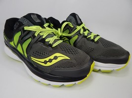 Saucony Hurricane ISO 3 Size 9 2E WIDE EU 42.5 Men's Running Shoes Gray S20349-1