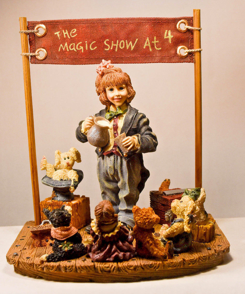 Boyds Bears: The Amazing Bailey... Magic Show at 4 - First Edition/3180 - #3518 image 3