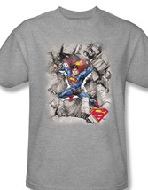 Superman dc comics tshirt clark kent lois lane for sale online heather gray graphic tee thumb200