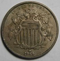 1869 SHIELD NICKEL 5¢ COIN Lot# MZ 4135