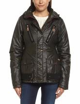 Bench Flapdoodle Black Zip Stow-Away Hood Warm Winter Jacket Coat NWT