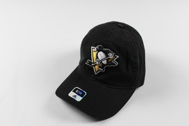 New Sample ADIDAS Pittsburgh Penguins Hockey S/M Fitted Cotton Dad Hat C... - $22.23
