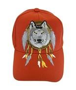 Native Pride Wolf Men's Adjustable Baseball Cap (S2-Red) - $11.95