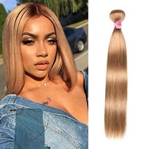 Year Promotion Peruvian Virgin Remy Hair 10A 27# Honey Blonde Silky Stra... - $50.78