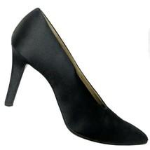 Yves Saint Laurent Womens Black Synthetic Pumps Shoes Size 8.5 N - $198.00