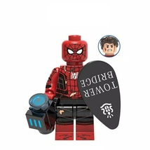 Spider-Man Far From Home (Final Battle) Marvel Minifigures Block Toys - $2.99
