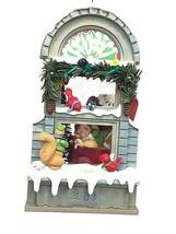 2003 Hallmark  #1 Christmas Window Ornament Club Exclusive Card Pristine - $17.80