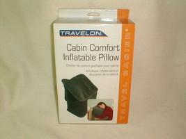 Inflatable pillow NIB Travelon cabin comfort travel home - $15.00
