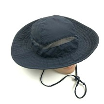 Eddie Bauer Exploration UPF Vented Boonie Hat Size S Small Navy Blue Nyl... - $11.77
