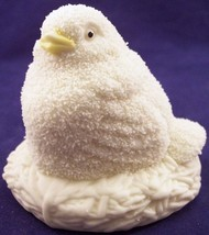 Department 56 Easter 1994 Hand Painted Bisque Porcelain Chick Figurine - $10.99