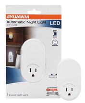 Sylvania Automatic LED Night Light with Integrated Outlet - $19.95