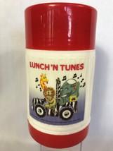 Lunch 'N Tunes Thermos 1986 Fun Designs - $12.00