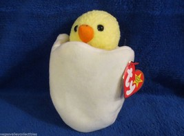 Ty Beanie Baby Eggbert 1998 Gasport Hang Tag Error 5th Generation - $11.57