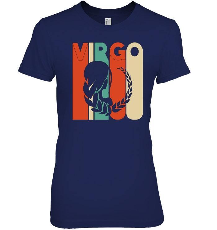 Vintage Style Virgo T shirt