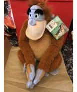 "Disney The Jungle Book KING LOUIE ORANGUTAN 15"" Plush STUFFED ANIMAL- NEW - $17.99"