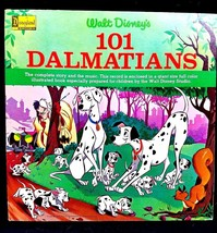 1965 VINTAGE COLLECTIBLE WALT DISNEY'S 101 DALAMATIANS LP ALBUM with Sto... - $19.79