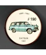 1961 DATSUN Jell-O Picture Wheel #190 - $5.00