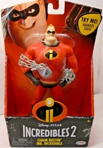 """New Incredibles 2 Chain Bustin' Mr. Incredible 6"""" Scale Action Figure - $13.46"""